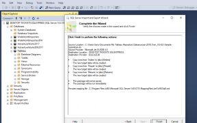 Load Sample Super Store Excel Data into Microsoft Sql Server to Analyze with Tableau 93