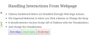 Tableau Server - Java Script API Call & Handling Interactions From website 7