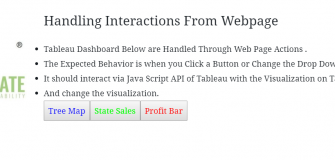 Tableau Server - Java Script API Call & Handling Interactions From website 133