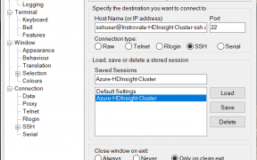 How to Connect to Azure HDInsight Cluster using Putty 29